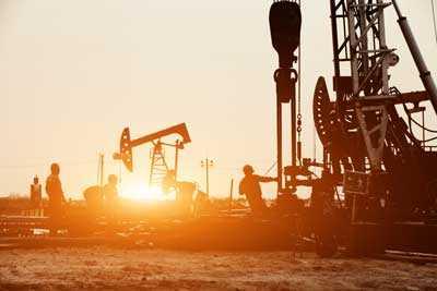 An oilfield port